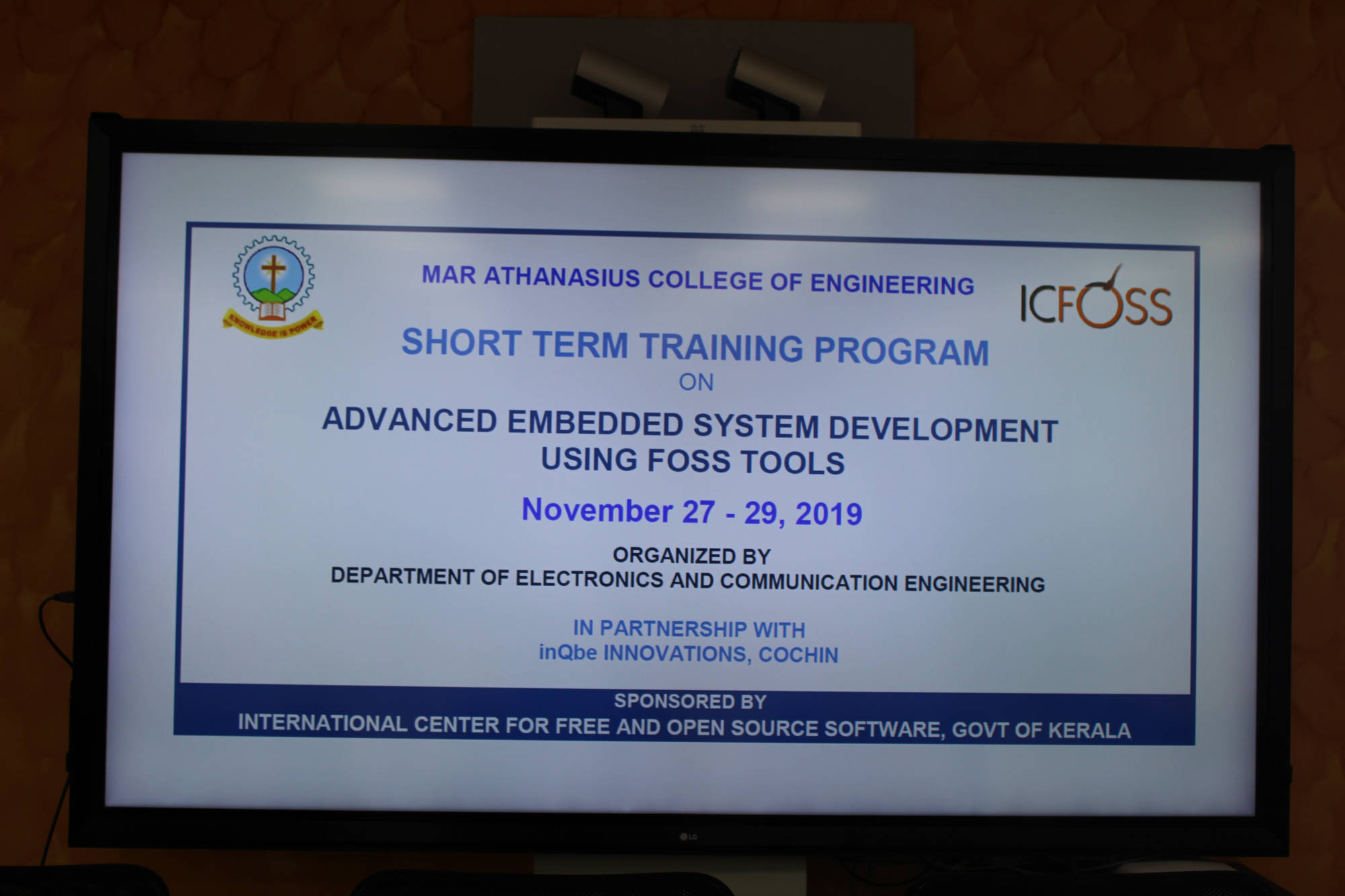 EMBEDDED SYSTEM INQBE MACE COURSE